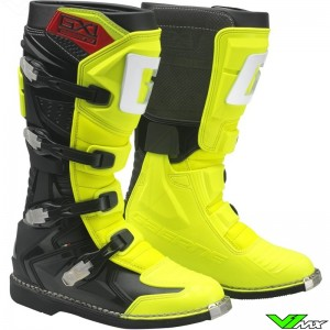 Gaerne GX-1 Motocross Boots - Fluo Yellow