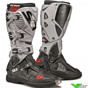 Sidi Crossfire 3 Motocross Boots - Black / Grey