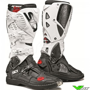 Sidi Crossfire 3 Motocross Boots - Black / White