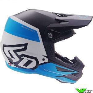 6D ATR-1 Motocross Helmet - Flight / Blue