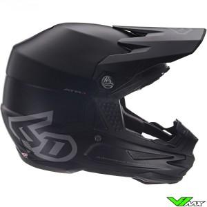 6D ATR-1 Motocross Helmet - Matt Black