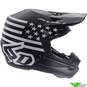 6D ATR-1 Motocross Helmet - Tactical / Black
