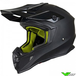 Just1 J38 2019 Motocross Helmet - Blade / Solid / Black
