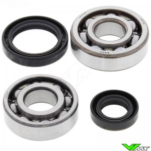 All Balls Crankshaft Bearings - Suzuki RM80
