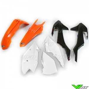 UFO Plastic Kit OEM - KTM 250EXC 300EXC 450EXC 500EXC 250EXC-F 350EXC-F