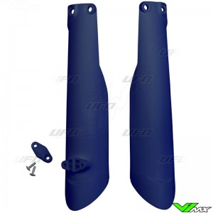 UFO Lower Fork Guards Blue - Husqvarna