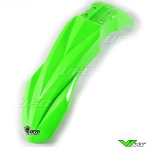 UFO Front Fender Fluo Green - Kawasaki KXF250 KXF450