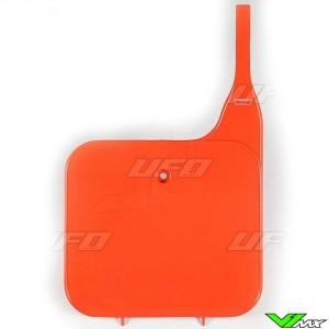 UFO Front Number Plate Orange - Honda CR125 CR250 CR500
