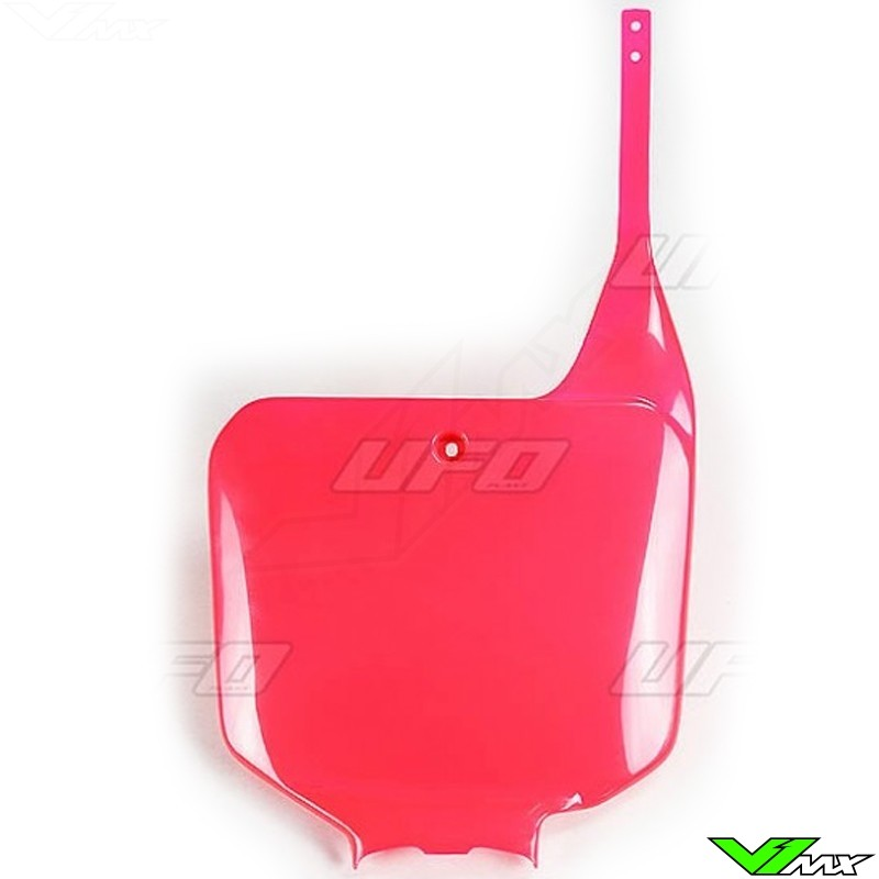 UFO Front Number Plate 02+ Red for 02-03 Honda CRF450R