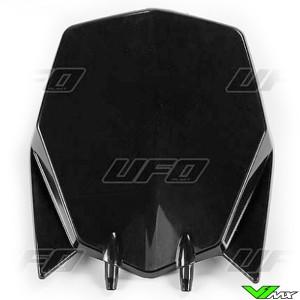 UFO Front Number Plate Black - Husqvarna TC449
