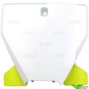 UFO Voornummerplaat Wit - Husqvarna FC250 FC350 TC125 TC250
