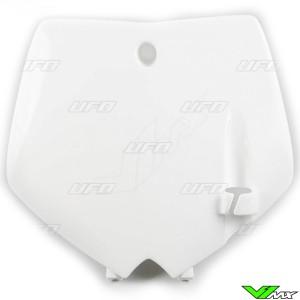 UFO Voornummerplaat Wit - KTM 65SX