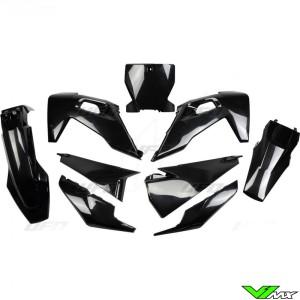 UFO Plastic Kit Black - Husqvarna FC250 FC350 FC450 TC125 TC250