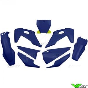 UFO Plastic Kit Blue - Husqvarna FC250 FC350 FC450 TC125 TC250