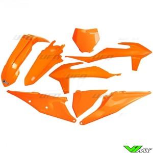 UFO Plastic Kit Orange - KTM 125SX 150SX 250SX 250SX-F 350SX-F 450SX-F