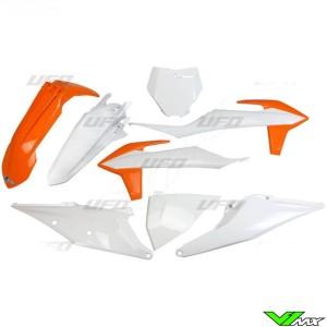 UFO Plastic Kit OEM - KTM 125SX 150SX 250SX 250SX-F 350SX-F 450SX-F