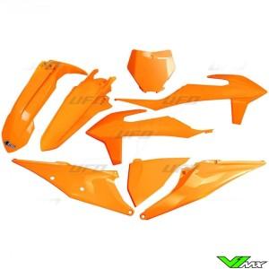 UFO Plastic Kit Fluo Orange - KTM 125SX 150SX 250SX 250SX-F 350SX-F 450SX-F