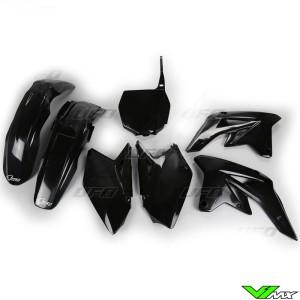 UFO Plastic Kit Black - Suzuki RMZ250