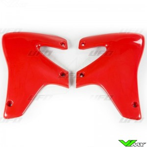 UFO Radiator Shrouds XR-Red - Honda XR650R