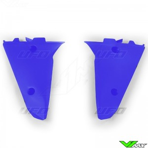 UFO Lower Radiator Shrouds Blue - Husqvarna TC250 TC510 TE250 TE510 TE610