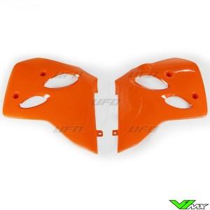 UFO Radiator Shrouds Orange - KTM 380SX 620SX 380EXC