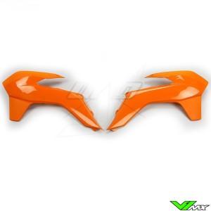 UFO Radiator Shrouds Orange - KTM