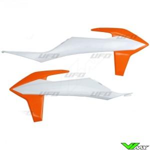 UFO Radiateurkappen OEM - KTM 125SX 150SX 250SX 250SX-F 350SX-F 450SX-F