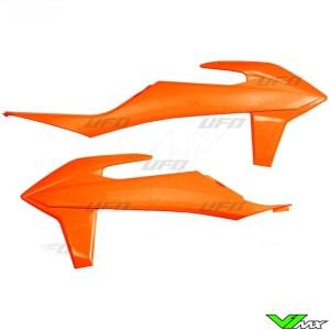 UFO Radiator Shrouds Fluo Orange - KTM 125SX 150SX 250SX 250SX-F 350SX-F 450SX-F