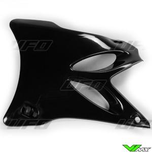 UFO Radiator Shrouds Black - Yamaha YZ85