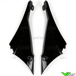 UFO Radiator Shrouds Black - Yamaha YZF450