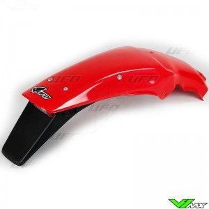 UFO Rear Fender with Tail Light Red - Honda CR125 CR250 CR500