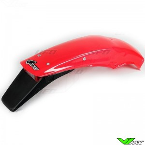 UFO Rear Fender with Tail Light (CR92-99 Red) - Honda CR125 CR250