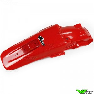 UFO Rear Fender with Tail Light (XR Red) - Honda XR650R
