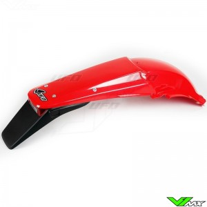 UFO Rear Fender with Tail Light Red - Honda CRF450R