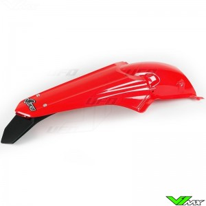 UFO Rear Fender with LED Tail Light Red - Honda CRF250R CRF450R