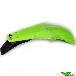 UFO Rear Fender with Tail Light Green - Kawasaki KX125 KX250
