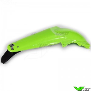 UFO Rear Fender with LED Tail Light Green - Kawasaki KXF250