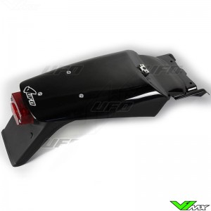 UFO Rear Fender with Tail Light Black - KTM 620SX