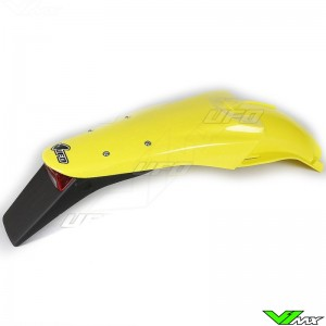 UFO Rear Fender with Tail Light Yellow - Suzuki DRZ400E