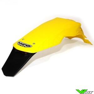UFO Achterspatbord met LED Achterlicht Geel - Suzuki RM125 RM250