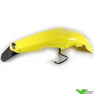 UFO Achterspatbord met LED Achterlicht Geel - Suzuki RMZ450