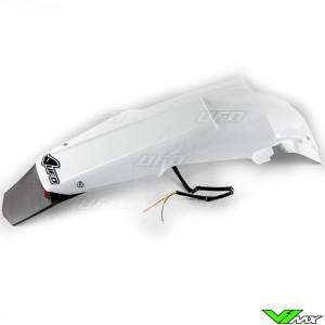 UFO Achterspatbord met LED Achterlicht Wit - Suzuki RMZ450