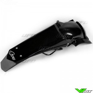 UFO Rear Fender with LED Tail Light Black - Yamaha WR250F WR450F