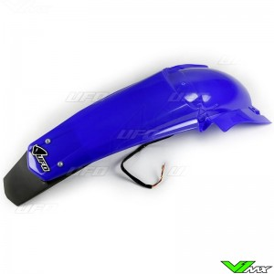 UFO Rear Fender with LED Tail Light Blue - Yamaha YZF250 YZF450