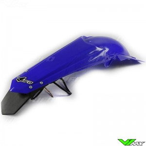 UFO Rear Fender with LED Tail Light Blue - Yamaha YZF250