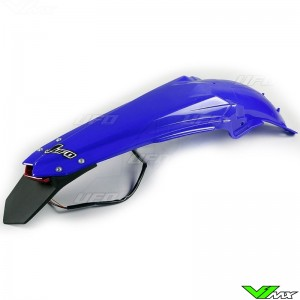 UFO Rear Fender with LED Tail Light Blue - Yamaha YZF450