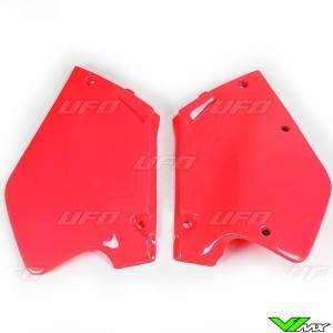UFO Zijnummerplaten (CR 92-97 Rood) - Honda CR125 CR250
