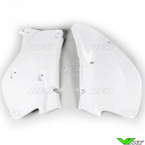 UFO Zijnummerplaten Wit - Honda XR650R