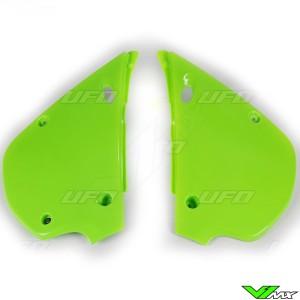 UFO Zijnummerplaten Groen - Kawasaki KX80