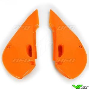 UFO Zijnummerplaten Oranje - Kawasaki KX65 KLX110